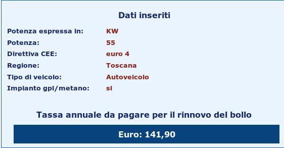 Bollo auto Nuova Clio