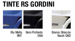 Colori Clio RS Gordini