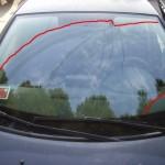 Clio pulizia vetro anteriore