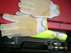guanti e lampadine