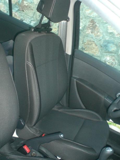 sedile anteriore nuova clio