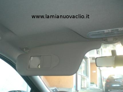 Le alette parasole della clio la mia nuova clio for Clio bianco avorio