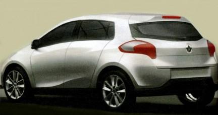 Ipotesi di linea per la nuova Renault Clio IV