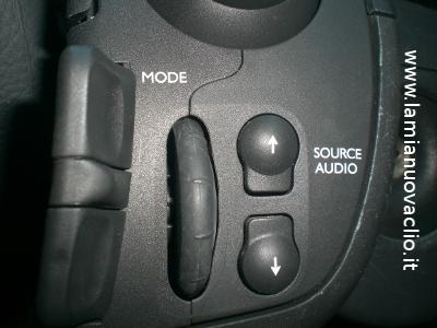 rotella e selezione fonte audio clio