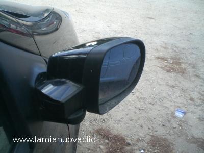 specchietto della clio girato in avanti