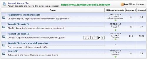 forum renault clio