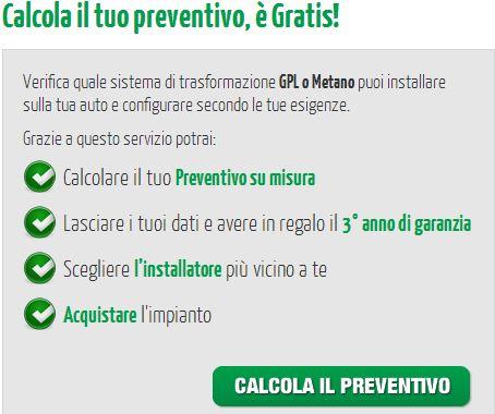preventivo gpl-landi