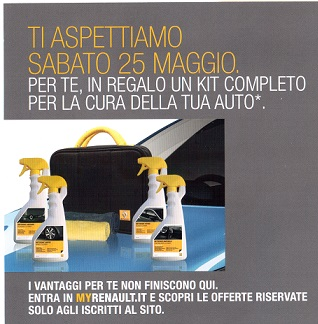 forfait Renault 25maggio
