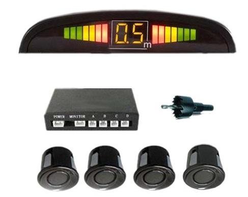 sistema di sensori per il parcheggio