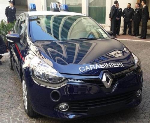 I carabinieri useranno le Renault Clio
