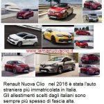 Renault Nuova Clio 2016