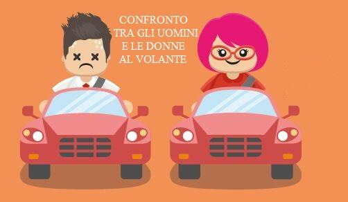 uomini e donne al volante