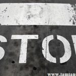 stop all'incrocio