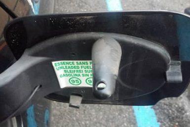 sportellino carburante clio 3